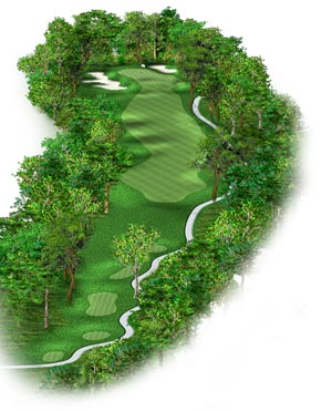 Hole #10 – Elm Valley Rendering
