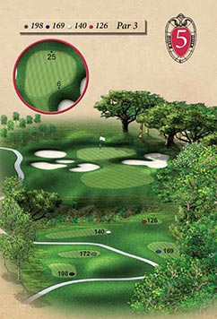 Hole #5 – Noer's View Rendering